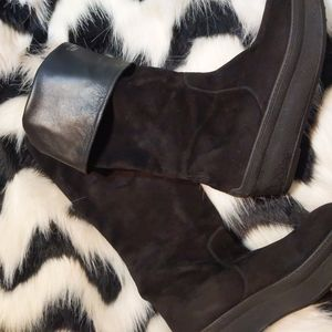 Tod's Shoes - Authentic Tod's Suede Leather Boots
